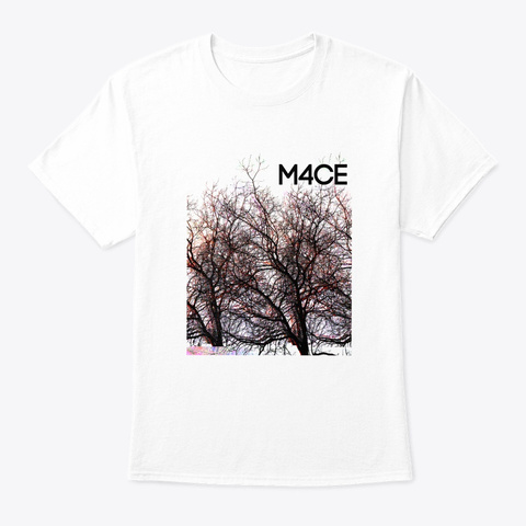 Branches//Branded White T-Shirt Front