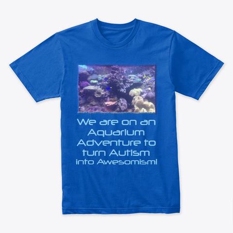 Awesomism Aquarium Royal T-Shirt Front