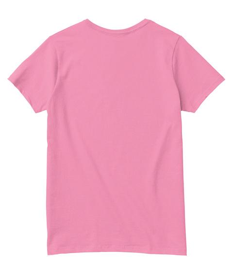 Vneck Manhattan New York City Black Pink  T-Shirt Back