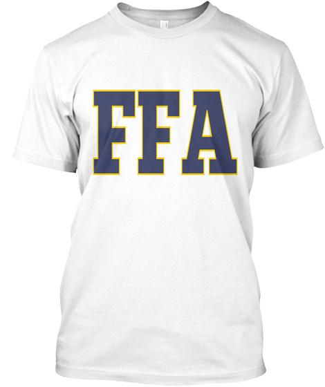 Ffa White T-Shirt Front