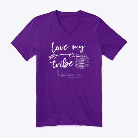 Tribe Tribute   Tribe Team Purple T-Shirt Front