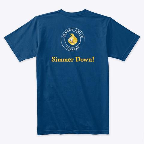 New Simmer Down! Cool Blue T-Shirt Back