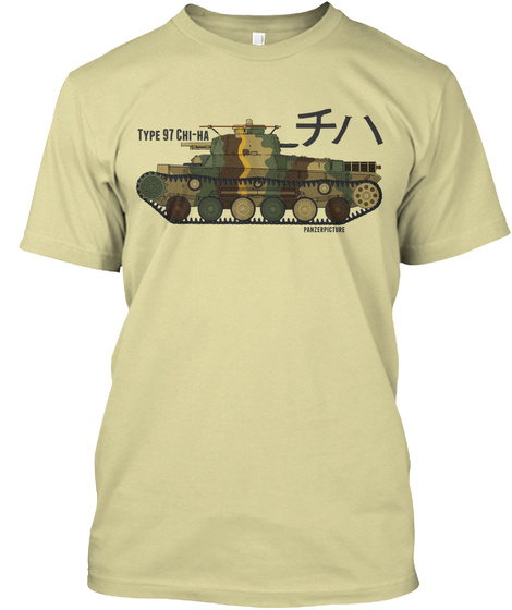 Type 97 Chi Ha Sand T-Shirt Front