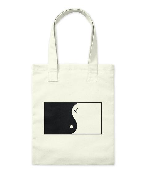 Ying Yang Artwork Accessoires Natural T-Shirt Front