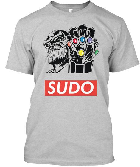 Sudo Light Steel áo T-Shirt Front