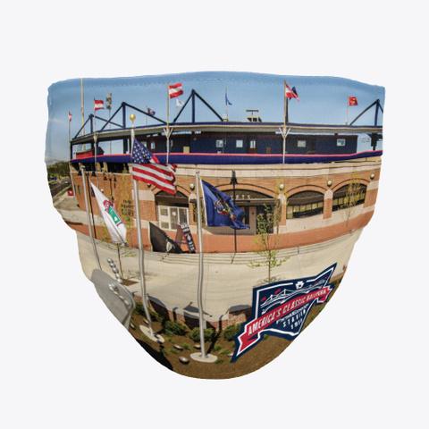 America's Classic Ballpark Face Mask Standard T-Shirt Front