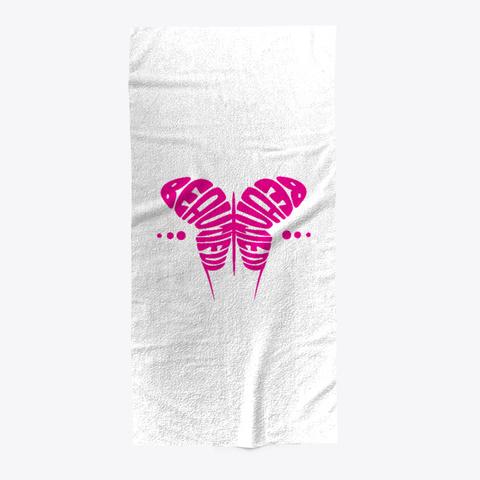 Beautiful Butter Fly Art Towel Standard T-Shirt Front