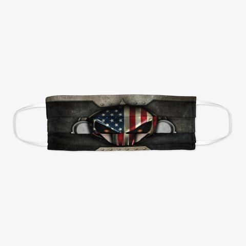 Awesome Barista Mask Black T-Shirt Flat
