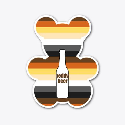 Teddy Beer Standard T-Shirt Front