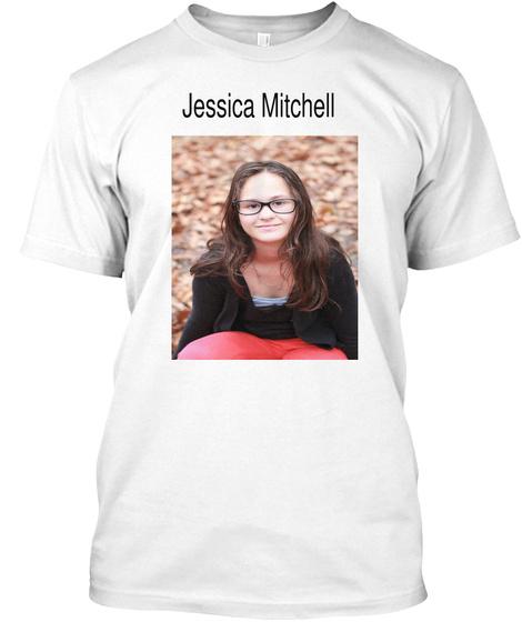 Jessica Mitchell White Camiseta Front