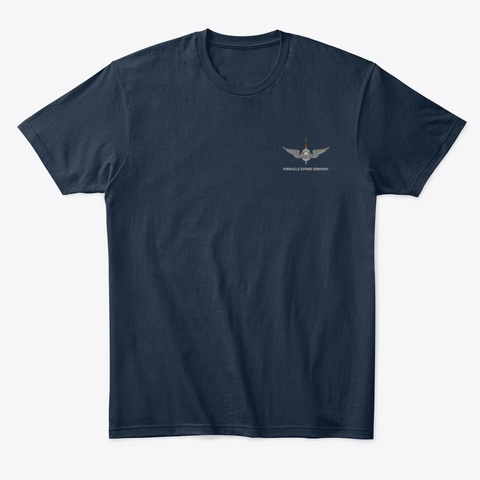 "Pdc Men's ""Dive"" Shirt 1 New Navy T-Shirt Front"