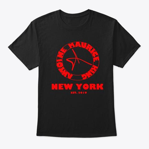 Antoine Maurice King New York Tee Black T-Shirt Front
