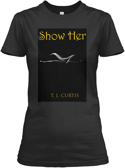 'show Her' Fight Results Black Women's T-Shirt Front