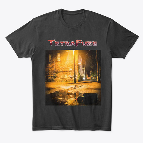 Tetra Fuze S.O.T.T. Album Cover Black T-Shirt Front
