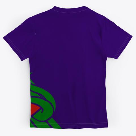 Thinkstr Dark Navy T-Shirt Back