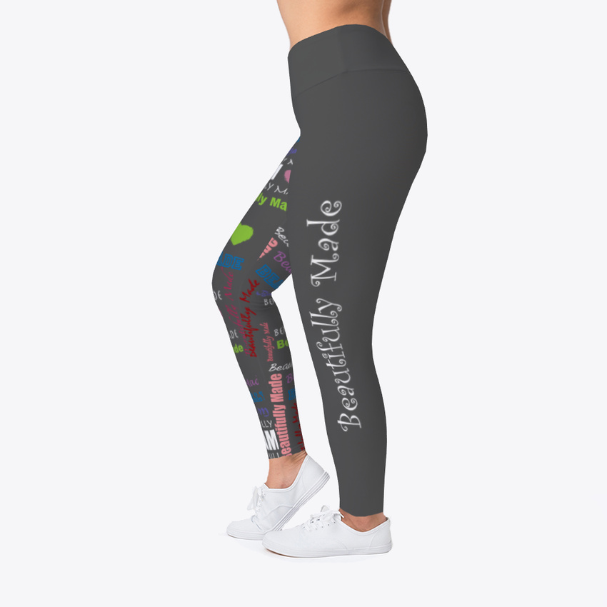 I Am Beautifully Made Women/'s Print Fitness Stretch *Leggings* Yoga Pants