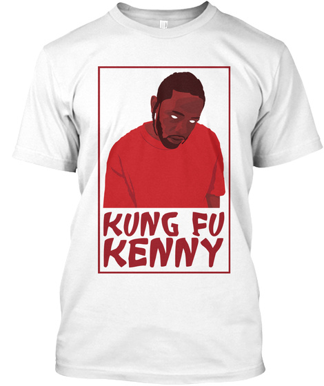 Kung Fu Kenny White T-Shirt Front