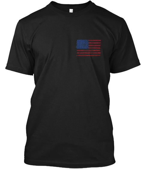 Faith, Family, Friends &Amp; Freedom Black T-Shirt Front