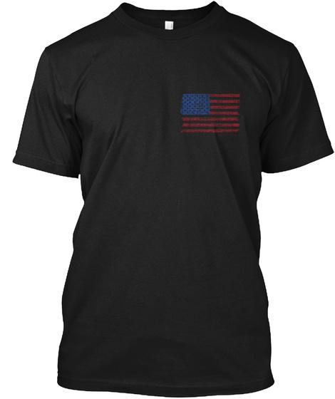 Faith, Family, Friends &Amp; Freedom Black T-Shirt Front