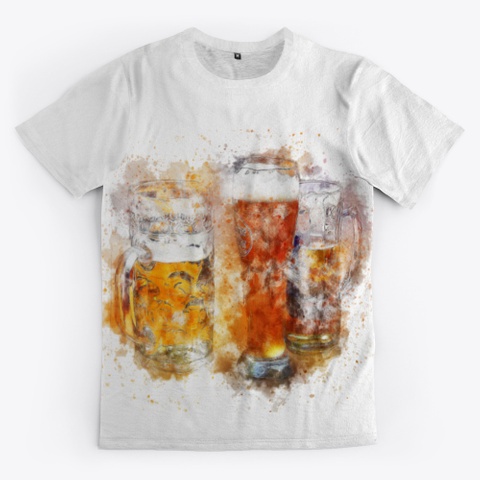 Stylish Beer Shirt For Men Women Tee Standard T-Shirt Front