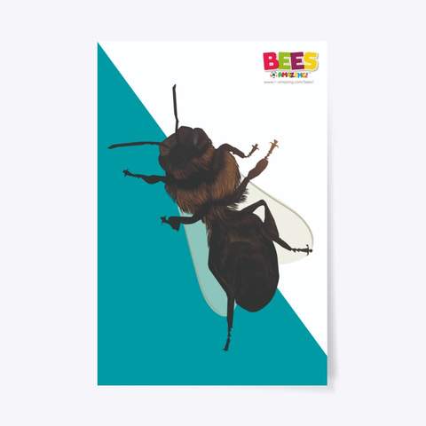 Dead Bee Poster Standard T-Shirt Front