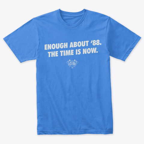 Enough About 88 Vintage Royal T-Shirt Front
