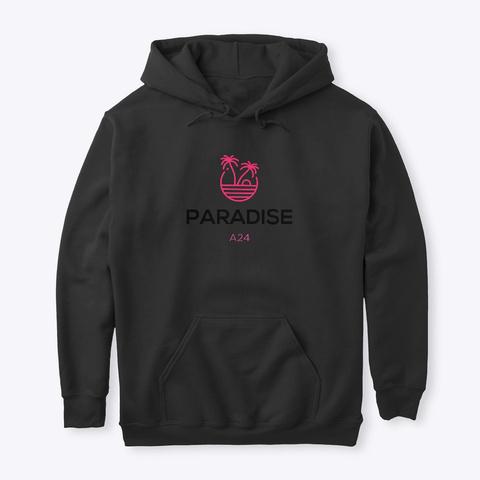 Paradise A24 Black T-Shirt Front