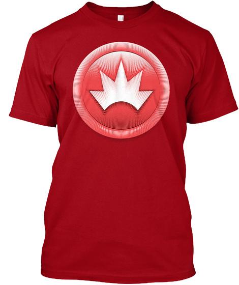 We Blast Deep Red T-Shirt Front