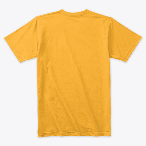 Yoga Mom Gold T-Shirt Back