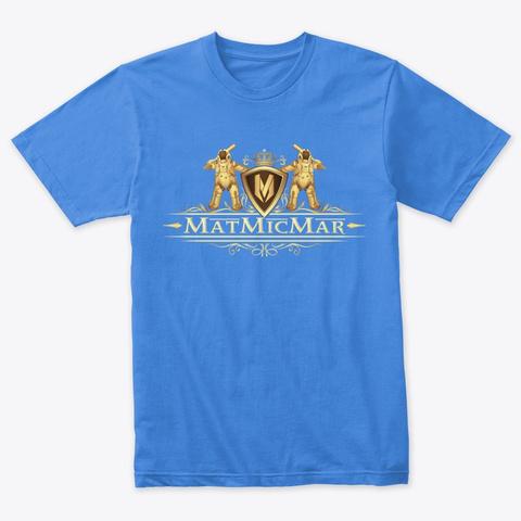 You Fancy? Vintage Royal T-Shirt Front