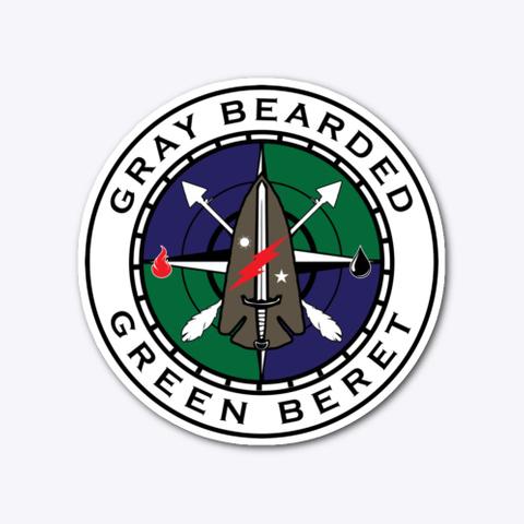 Gbgb New Logo Die Cut Stickers Standard T-Shirt Front