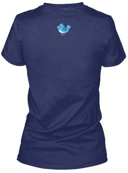 Tiffany Midnight Navy Women's T-Shirt Back