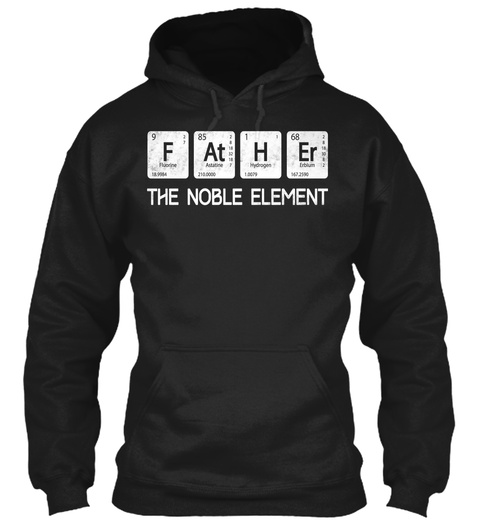 F At H Er The Noble Element Black Sweatshirt Front