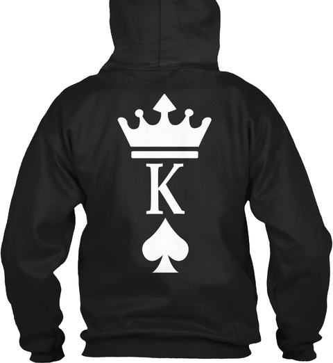 K Black Sweatshirt Back