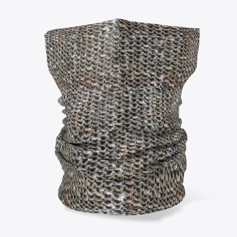 Face Covering   Chain Mail Standard Maglietta Front