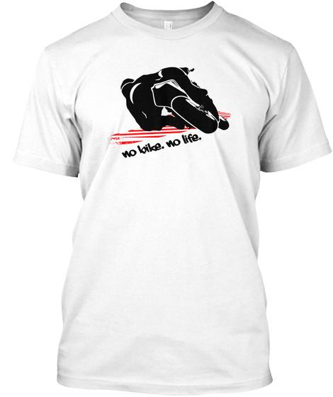 11M - No Bike No Life Unisex Tshirt