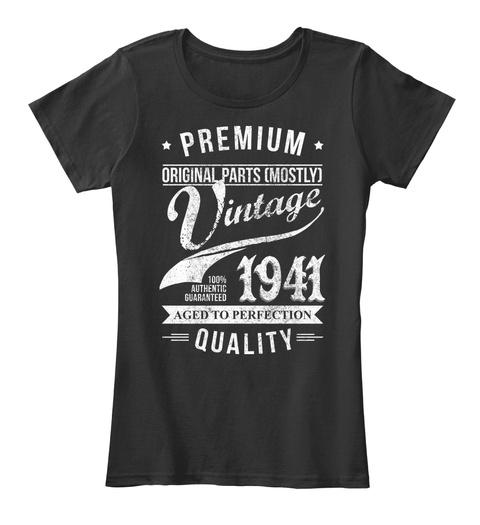 Vintage 1941. Birthday Gift For 75 Years old. Hoodie Tshirt