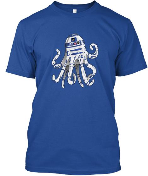 Octo D2 Deep Royal T-Shirt Front
