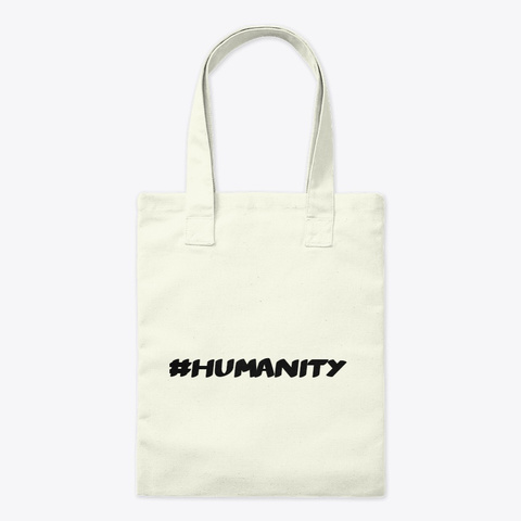 Save Humanity Product Natural T-Shirt Front