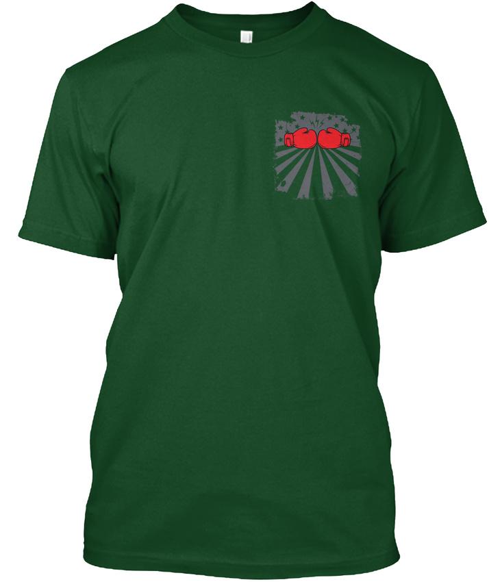 Boxing-Flag-Premium-Tee-T-Shirt thumbnail 10