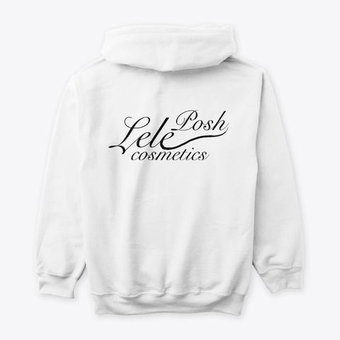 Lele Lewks White T-Shirt Back