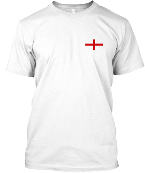 + White T-Shirt Front