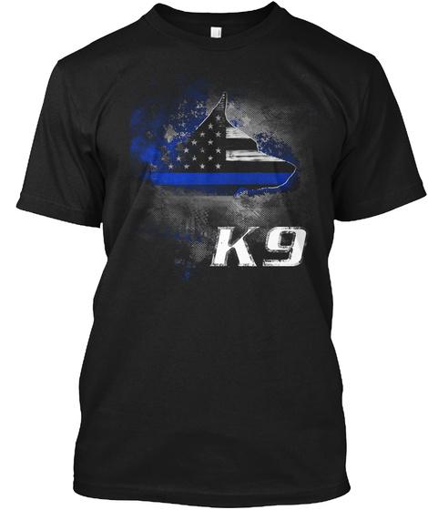 K9 Black T-Shirt Front