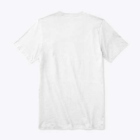 Beautiful  Beagle  White T-Shirt Back