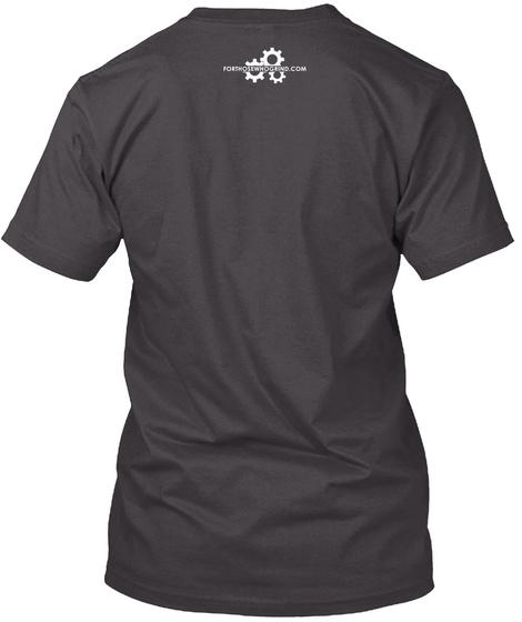 Dare To Be Dope   Tee N Mug Heathered Charcoal  T-Shirt Back