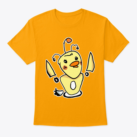 B33 Ps B0 T 5000 Gold T-Shirt Front