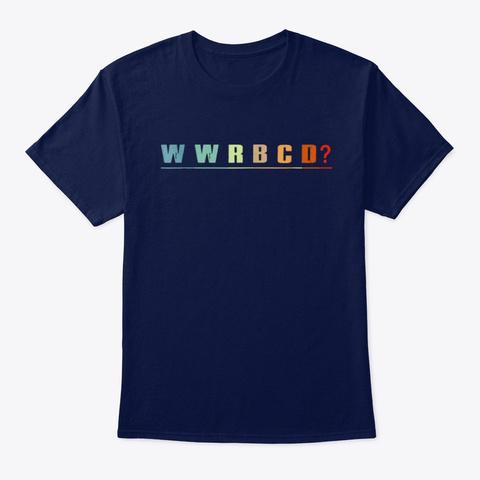 """Ruth Bader Ginsburg"""" Rbgd T Shirt Navy T-Shirt Front"""