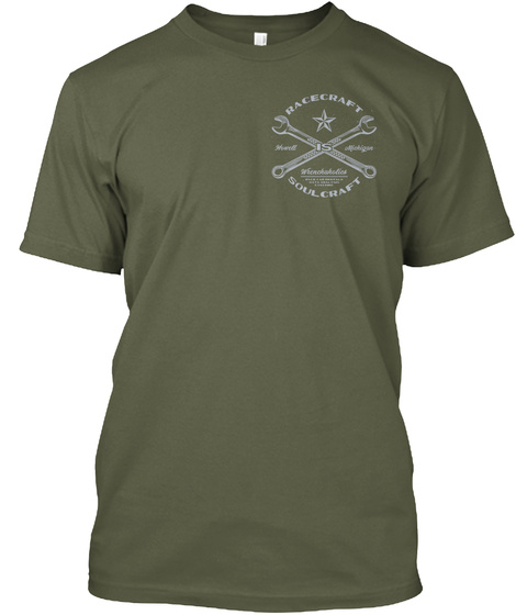 Hacecraft Soulcraft Military Green T-Shirt Front
