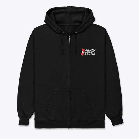 South Jersey Scuba Apparel Black T-Shirt Front
