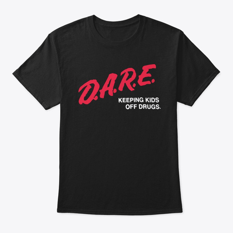 Alexis Ohanian Dare Shirt Black T-Shirt Front